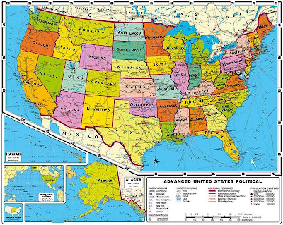 Us Map Geography