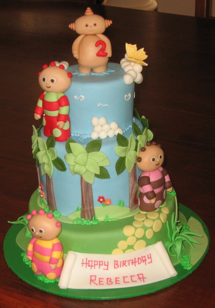 Let Them Eat Cake: Small three tier In the Night Garden