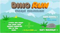 dino run video game title screen