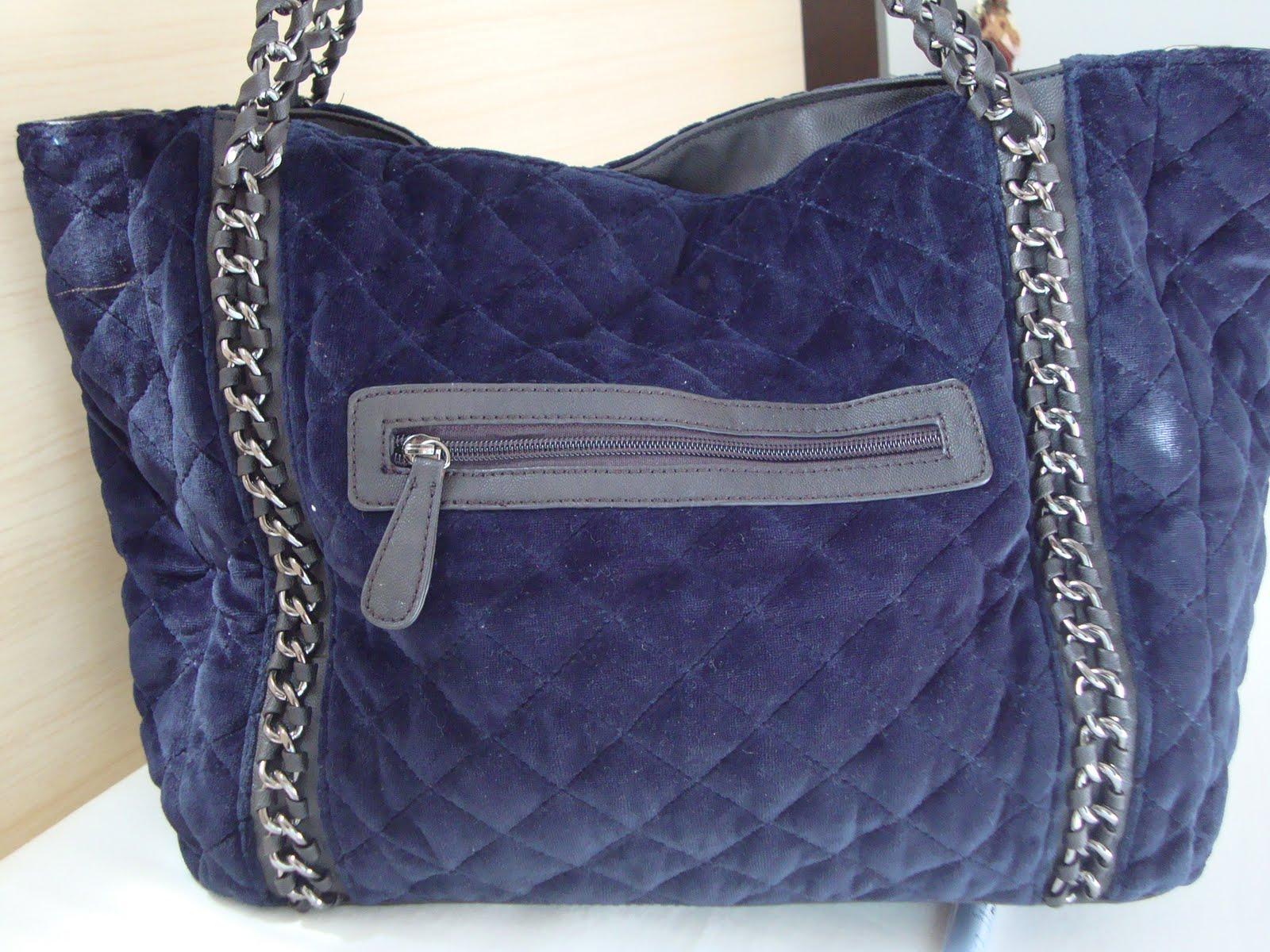 Bolsa De Mao Azul Marinho : Bolsas moda feminina bolsa no azul marinho