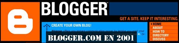 Blogger 2001