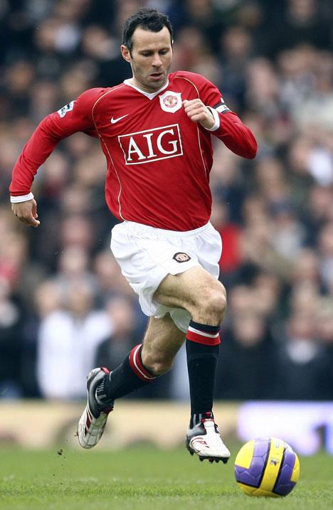 Ryan Giggs Soccer Player