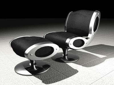 Gluon Chair Design by Marc Newson