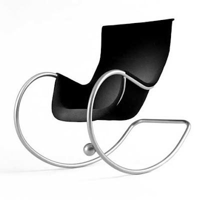 Modern Rocking Chair by Eero Aarnio