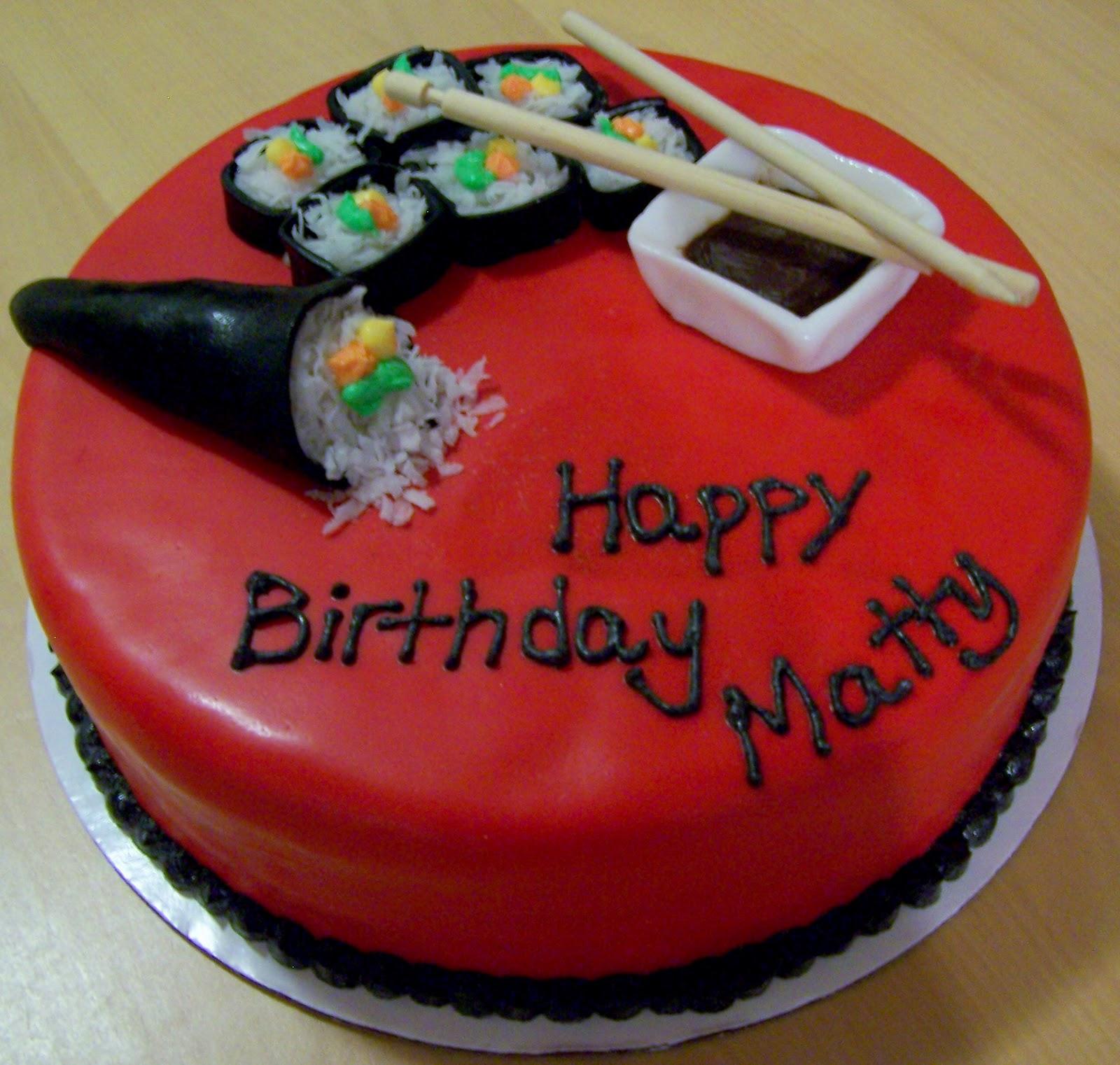 Aloha Cakes by Andrea: Sushi Cake