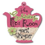 I was the Guest Designer for Week #15 at The Shabby Tea Room