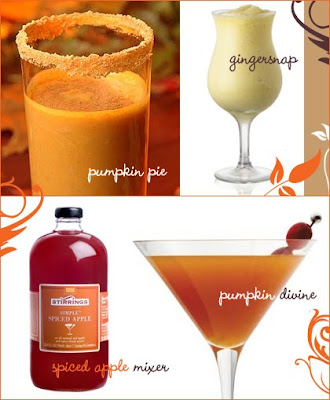 Something pink girls november 2009 for Thanksgiving drinks alcoholic recipes