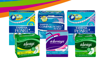 FREE Sample Kit of Feminine Hygiene Products!