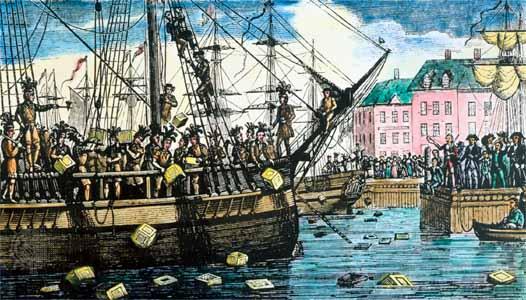 Boston tea party essay