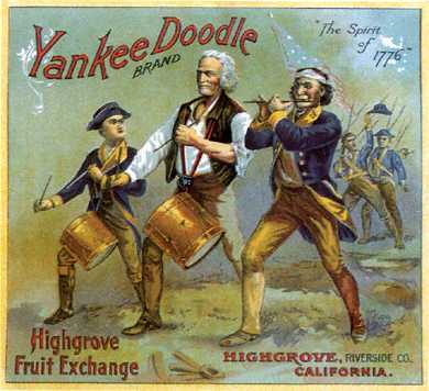 "In the song ""Yankee Doodle,"" what does the word ""macaroni"" refer to?"