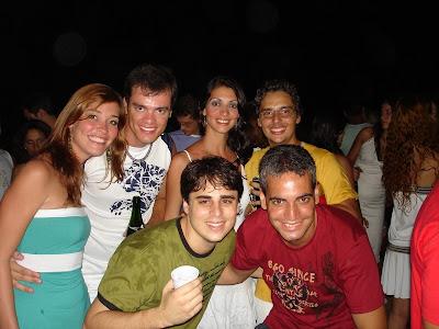 Wanessa, Me, Patricia, Edgard, Espirro and Véio