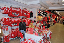 Hubby drowned in RED Liverpool Merchandise!!!