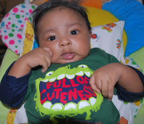 baby Aaron in Circo Romper