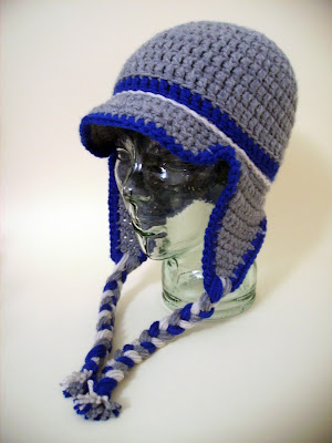 FREE CROCHET PATTERN FOR PERUVIAN EARFLAP BEANIE HAT ...