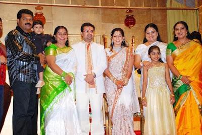 Beena Antony And Family