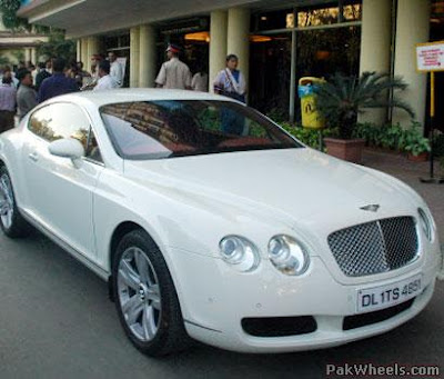 Continental GT car - Color: White  // Description: cool