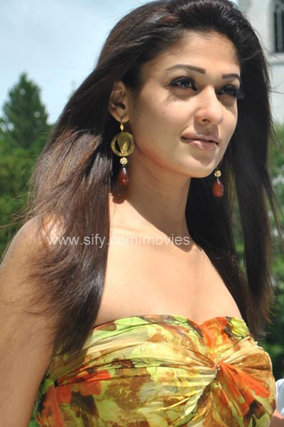 Nayanthara in Hot Shoulder Less Dresses