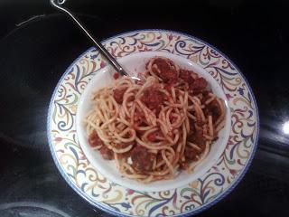 thefivefish.com, Karie Herring, recipes, spaghetti, tomato sauce, organic
