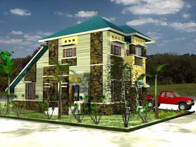 gambar rumah tingkat on Desain Rumah: Rumah Tingkat Tidak Mesti Mahal