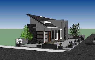 arsitek rumah on Contoh Desain Arsitek 'Rumah Jogja': Tempat prakter Dokter dan Apotek ...