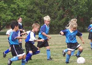 Enseñanza de futbol con niños. Metodologia aplicada a futbol