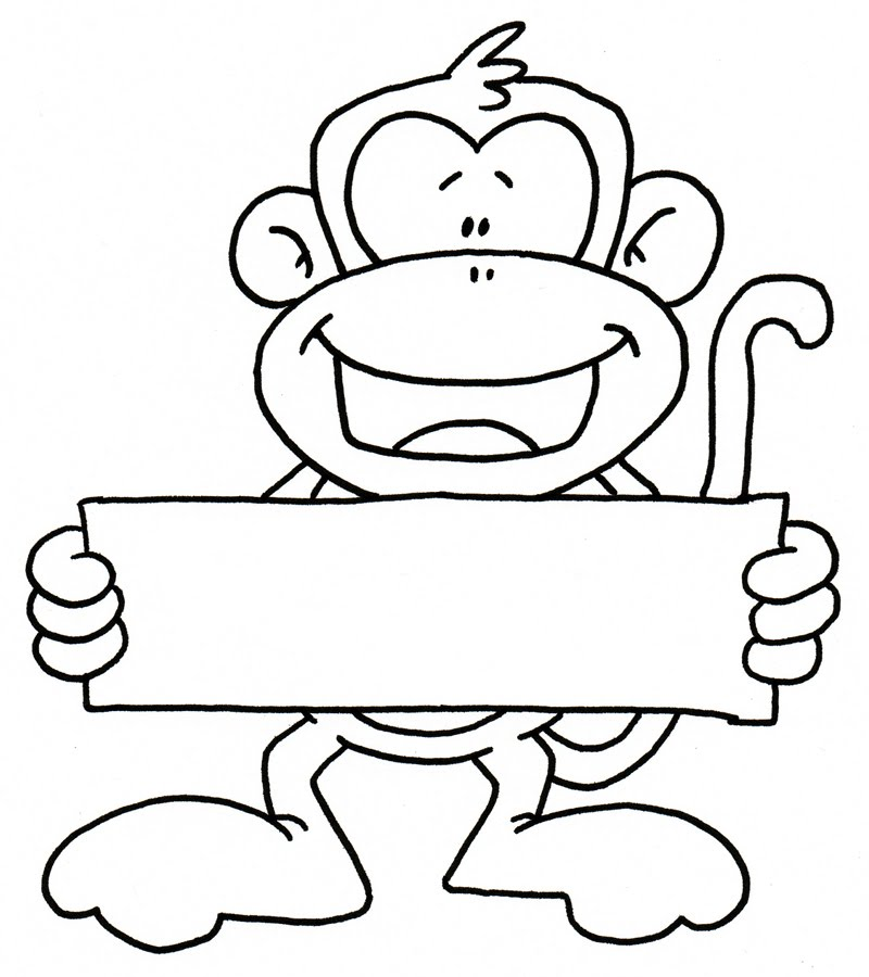 simple monkey drawing image search results picture to pin