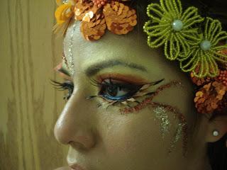 Maquiagem para dança / teatro