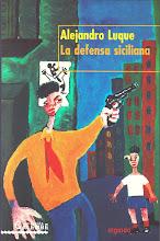 """Copertina del libro """"La defensa sicliana"""""""