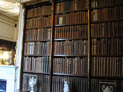 Wonder what those books are? Click image for a list of books related to the Cavendish's and Chatsworth House