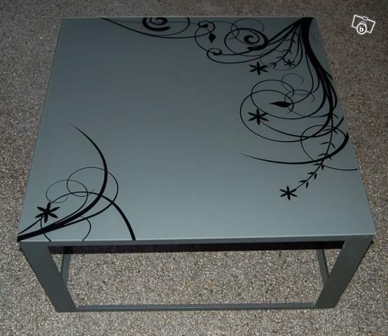 blog de la maison de l 39 imaginarium l 39 ambiance factory 100 sur mesure table en verre. Black Bedroom Furniture Sets. Home Design Ideas