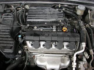 2005 honda civic si engine