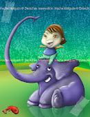 Elephancio y yo.