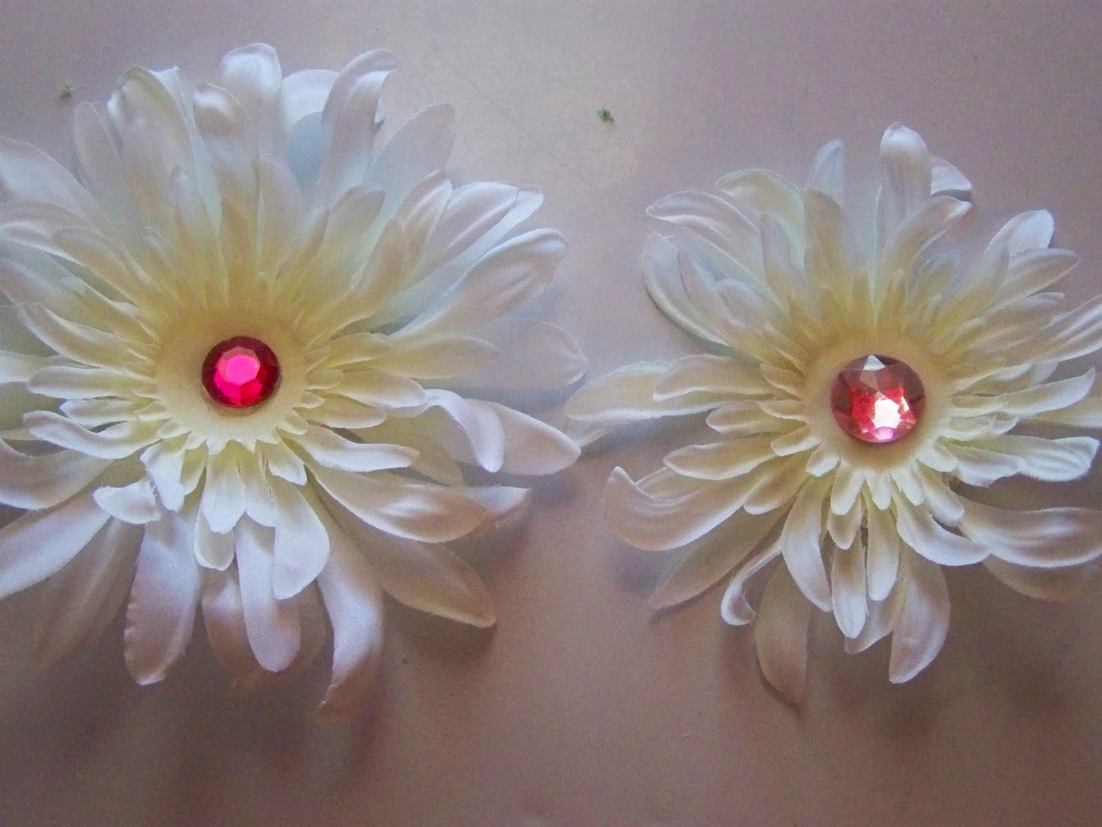 A To Z For Moms Like Me Flower Hair Clips