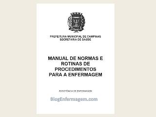 Manual de normas e rotinas de procedimentos para a enfermagem .pdf