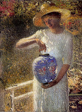 A Girl with Lantern