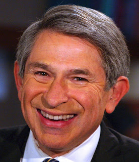 Outgoing World Bank President Paul Wolfowitz