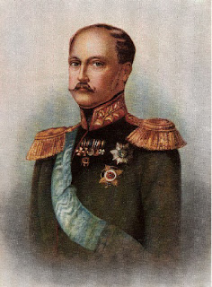 Portrait of Russian Tsar Nicholas I