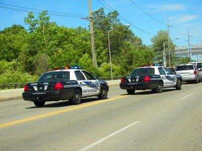 Sylvania police cars