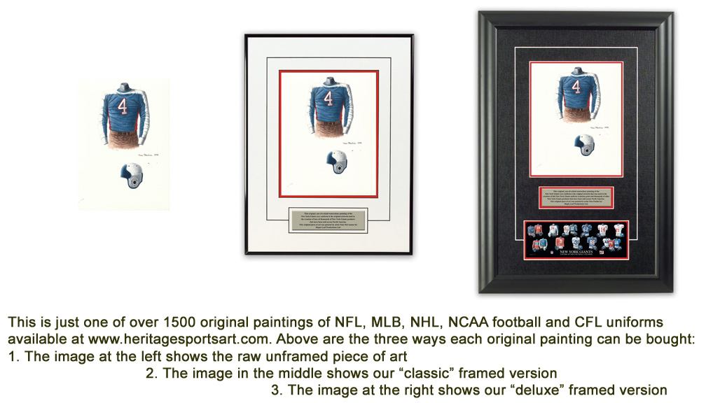 Denver Broncos Uniform and Team History | Heritage Uniforms and Jerseys