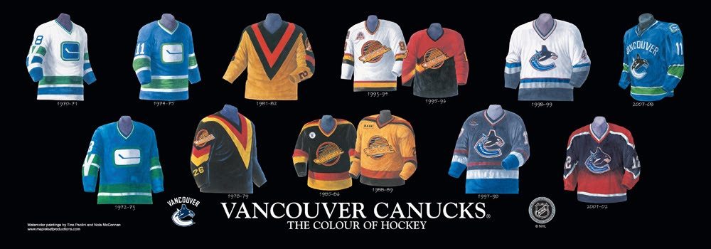 Vancouver Canucks Franchise Team Arena And Uniform