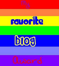 My Favourite blog award