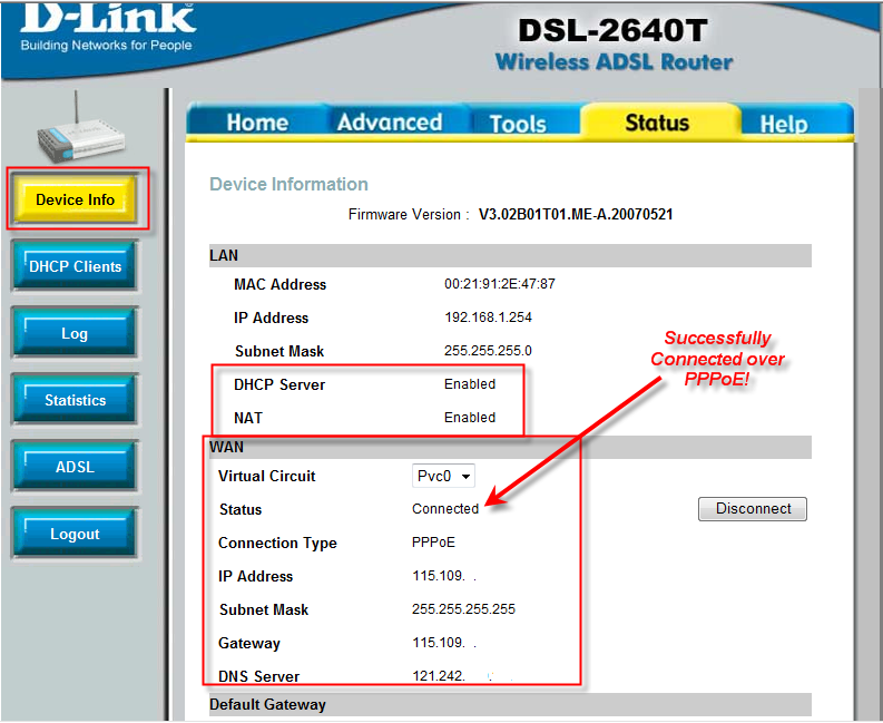 D LINK WIRELESS ADSL2 ROUTER DSL-2640T DRIVER