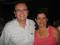 Con EL GOBERNADOR CARLOS MAURICIO IRIARTE.