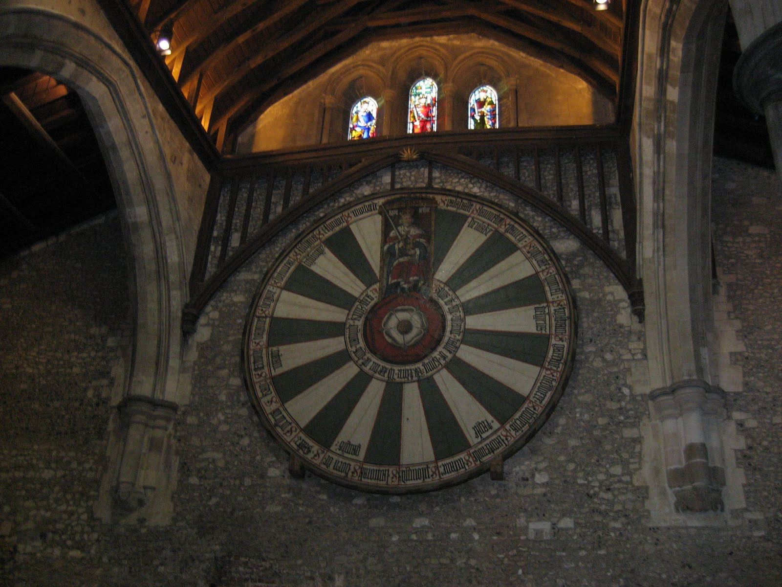 King Arthur 39 S Round Table Somewhere In Winchester UK Not The