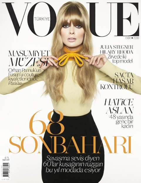 julia stegner vogue. While Julia Stegner works a