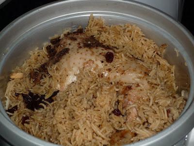 Nasi mandhy/nasi arab.