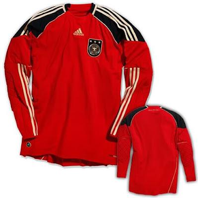 Camiseta de Alemania Mundial 2010 - Portero