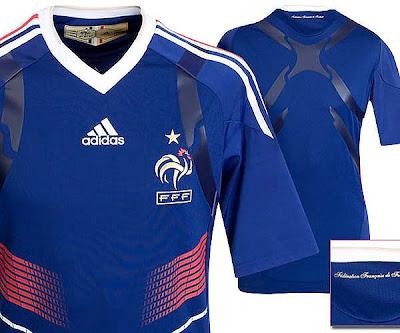 Camiseta Francia Titular Adidas, Les Bleus evocan la mistica de su Mundial