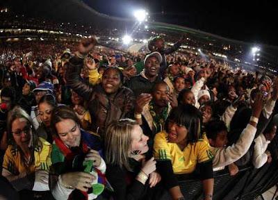 Galeria Fotos Apertura del Mundial, Sudáfrica vibró al ritmo de Shakira, Juanes y Black Eyed Peas