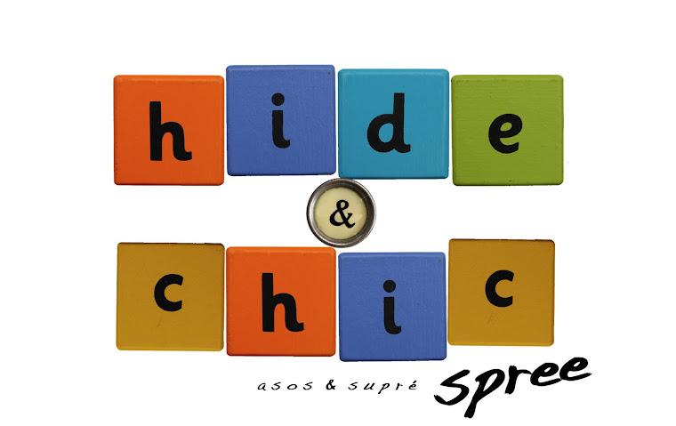 hide&chic spree | Asos & Supre spree |